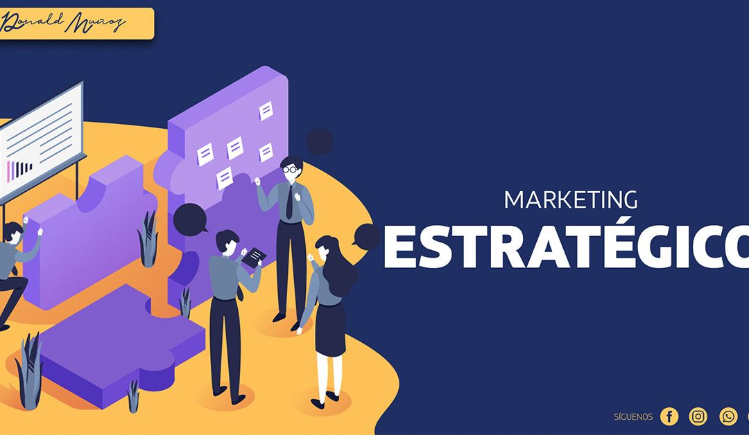 ¿Qué es Marketing estratégico?